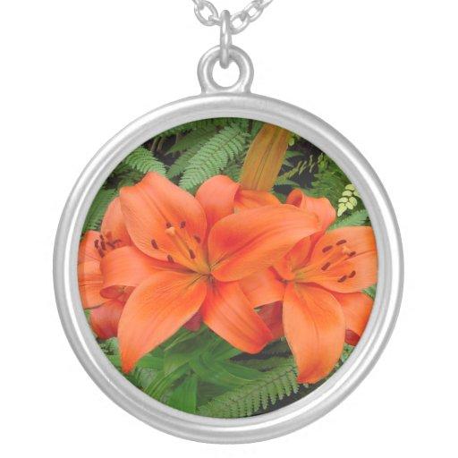 Flor del lirio - naranja iridiscente (Matt 28-30) Grimpola