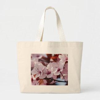 flor del melocotón bolsa de mano