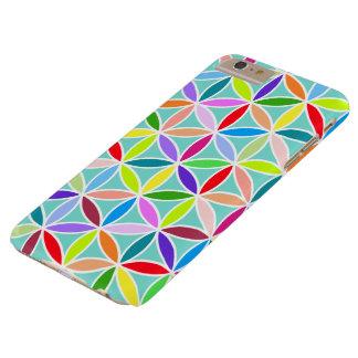 Flor del modelo grande de la vida - multicolor funda de iPhone 6 plus barely there
