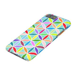 Flor del modelo grande de la vida - multicolor funda de iPhone 6 barely there