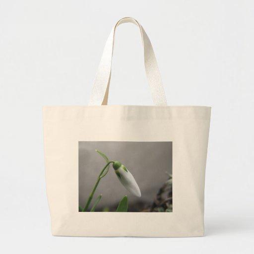 Flor del nacimiento - enero - Snowdrop Bolsas