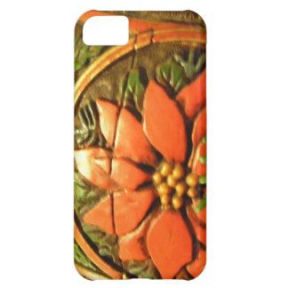 Flor del navidad carcasa para iPhone 5C