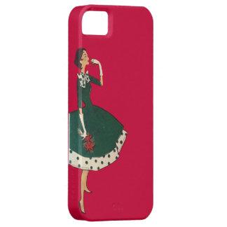 Flor del navidad funda para iPhone SE/5/5s