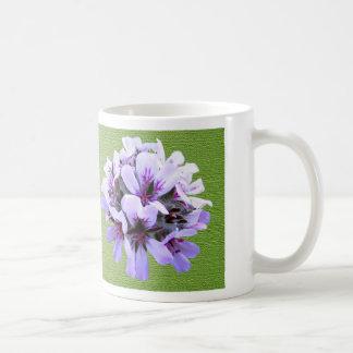Flor del Pelargonium Taza