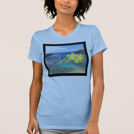 Flor del Plumeria de Hawaii Camiseta