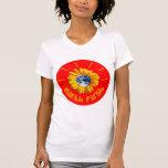 flor del poder camiseta