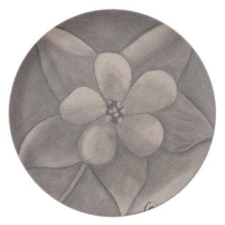 Flor del primero de mayo (dibujo) platos de comidas