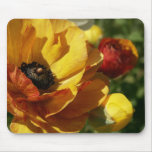 Flor del ranúnculo alfombrillas de ratón