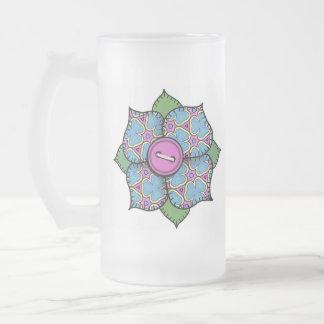 Flor del remiendo - 020 taza de cristal