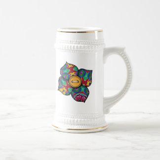 Flor del remiendo - 21 jarra de cerveza