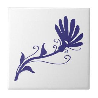 Flor del remolino tejas  cerámicas
