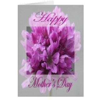 Flor del rosa del día de madre tarjeta de felicitación