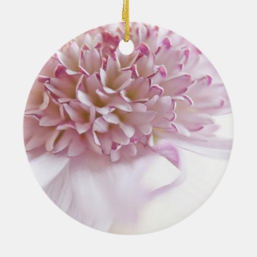 Flor del rosa en colores pastel adornos