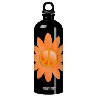 Flor del símbolo de paz - naranja de Cantelope