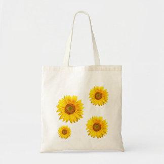 flor del sol bolsa tela barata