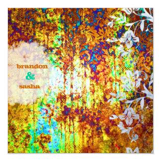 Flor del tesoro hundido el | de la CROMATOGRAFÍA Invitación 13,3 Cm X 13,3cm