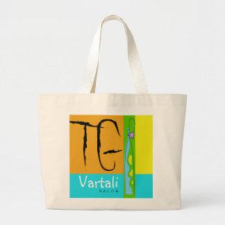 Flor del TG en el bolso de Vartali del florero Bolsa Tela Grande