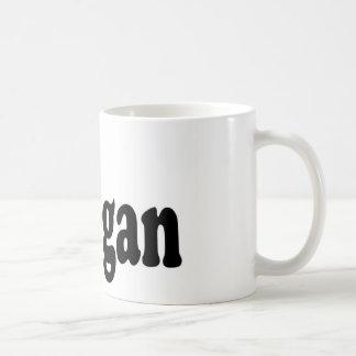 Flor del vegano taza de café
