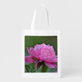 Flor del verano bolsa reutilizable