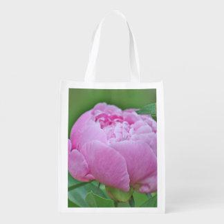 Flor del verano bolsas reutilizables