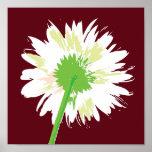 Flor del vintage impresiones
