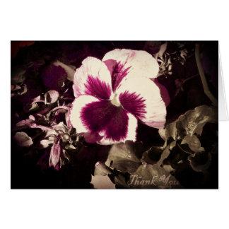 Flor del vintage felicitaciones