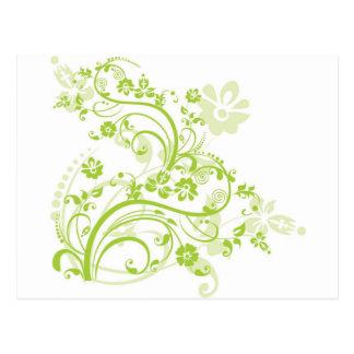 Flor design.png tarjeta postal