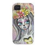 Flor, Dia De Los Muertos I-Phone Case iPhone 4/4S Covers