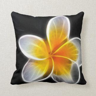 flor eléctrica almohada