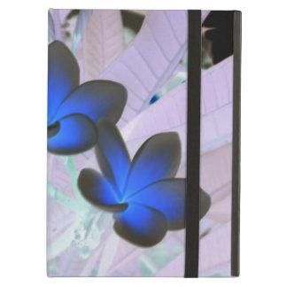 Flor elegante azul