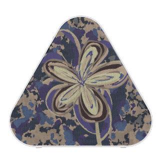 Flor en camuflaje altavoz bluetooth