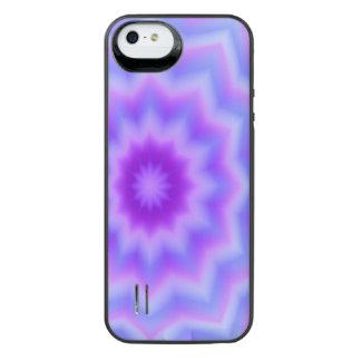 Flor en colores pastel de la estrella azul funda power gallery™ para iPhone 5 de uncommon