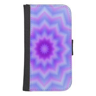 Flor en colores pastel de la estrella billetera para teléfono