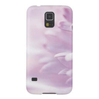 Flor en colores pastel suave de la lavanda carcasa galaxy s5