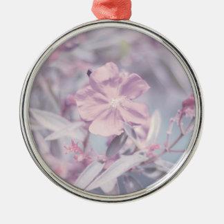 Flor en colores pastel suave de la lavanda ornamentos para reyes magos