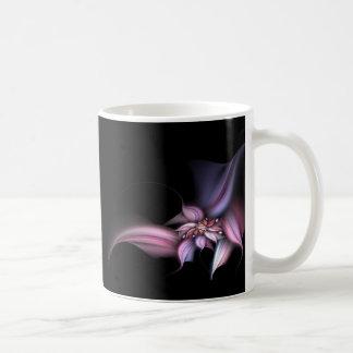 Flor en colores pastel taza de café