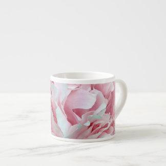 Flor en colores pastel taza espresso