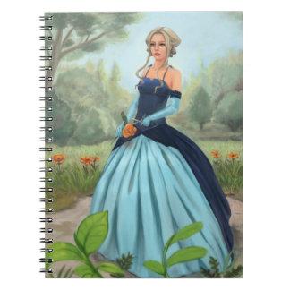 """""""Flor en cuaderno del jardín"""""""