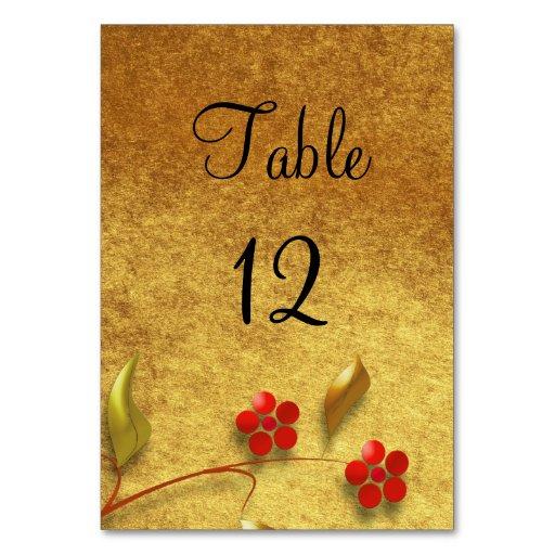 Flor en tarjeta del número de la tabla del fondo d