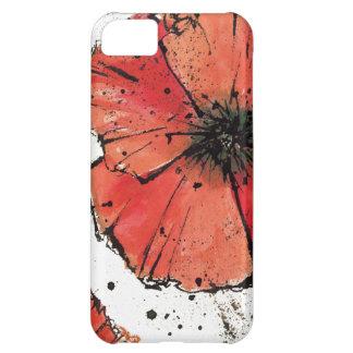 Flor en un fondo blanco funda para iPhone 5C