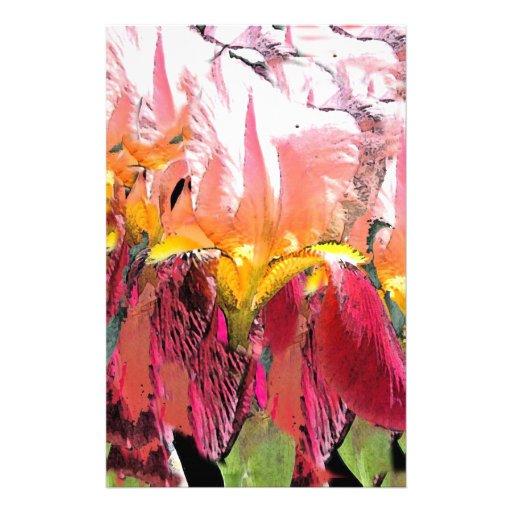 Flor enrrollada papelería