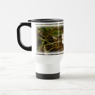 Flor esperanzada taza de café