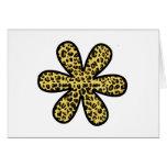 Flor, estampado de animales, leopardo manchado - a