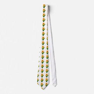 Flor exótica salvaje elegante del cactus en los corbatas