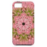 Flor explosión enero de 2013 rosado funda para iPhone 5 tough