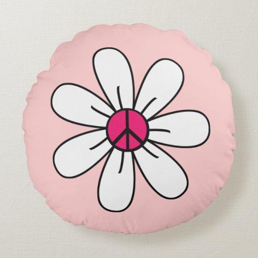 Flor femenina del signo de la paz
