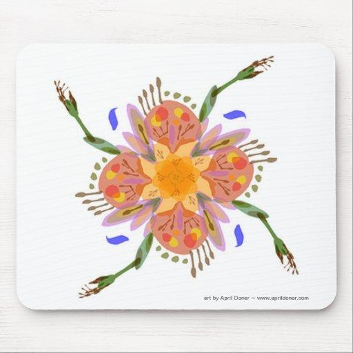 "Flor ""femenina"" Mousepad"