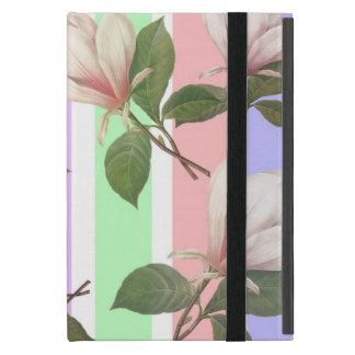 Flor floral, colo en colores pastel suave de la iPad mini cárcasa