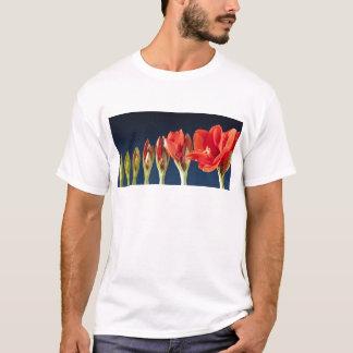 Flor floreciente del Amaryllis Playera