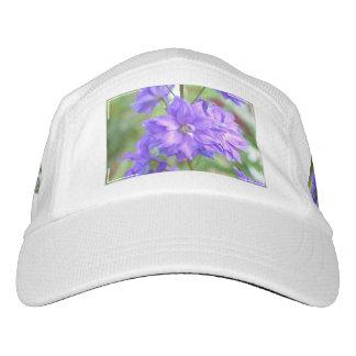 Flor floreciente del Delphinium Gorras De Alto Rendimiento